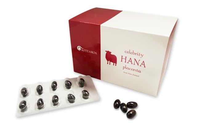 ハナプラセンタは、ニュージーランド産羊プラセンタ・プロテオグリカン・サクラの花エキスを配合したサプリメントです。